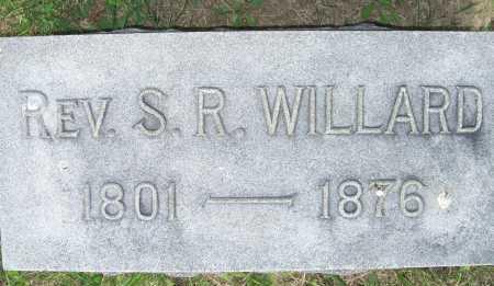 WILLARD, S. R. (REV.) - Lorain County, Ohio   S. R. (REV.) WILLARD - Ohio Gravestone Photos