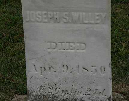 WILLEY, JOSEPH S. - Lorain County, Ohio | JOSEPH S. WILLEY - Ohio Gravestone Photos