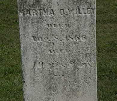 WILLEY, MARTHA O. - Lorain County, Ohio | MARTHA O. WILLEY - Ohio Gravestone Photos