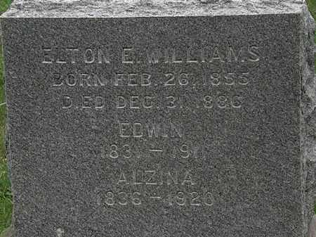 WILLIAMS, ELTON E. - Lorain County, Ohio | ELTON E. WILLIAMS - Ohio Gravestone Photos