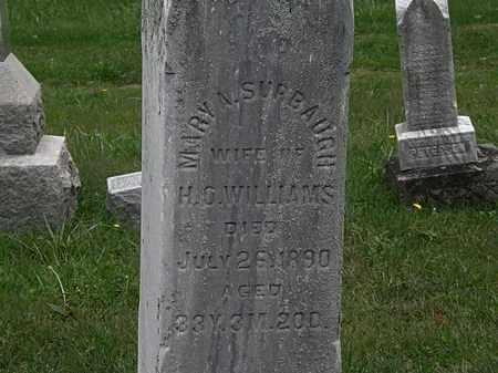 SURBAUGH WILLIAMS, MARY A. - Lorain County, Ohio | MARY A. SURBAUGH WILLIAMS - Ohio Gravestone Photos