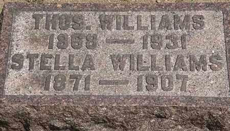 WILLIAMS, THOS. - Lorain County, Ohio   THOS. WILLIAMS - Ohio Gravestone Photos