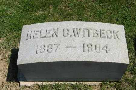WITBECK, HELEN C. - Lorain County, Ohio   HELEN C. WITBECK - Ohio Gravestone Photos