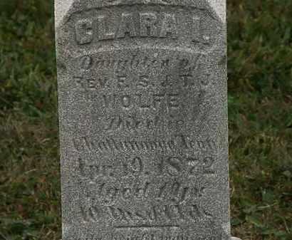 WOLFE, REV. E.S. - Lorain County, Ohio | REV. E.S. WOLFE - Ohio Gravestone Photos
