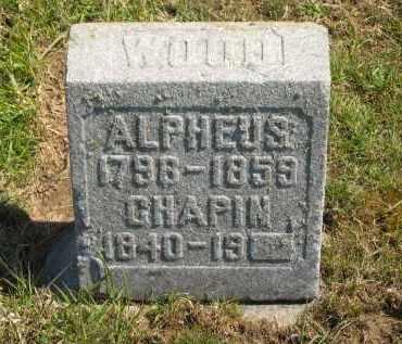 WOOD, ALPHEUS - Lorain County, Ohio | ALPHEUS WOOD - Ohio Gravestone Photos