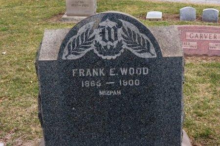 WOOD, FRANK E. - Lorain County, Ohio | FRANK E. WOOD - Ohio Gravestone Photos