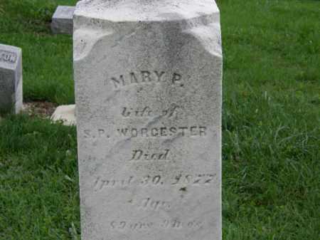 WORCESTER, MARY P. - Lorain County, Ohio | MARY P. WORCESTER - Ohio Gravestone Photos