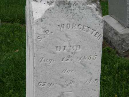 WORCESTER, S.P. - Lorain County, Ohio | S.P. WORCESTER - Ohio Gravestone Photos