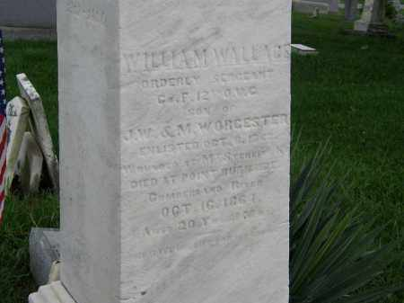 WORCESTER, WILLIAM WALLACE - Lorain County, Ohio | WILLIAM WALLACE WORCESTER - Ohio Gravestone Photos