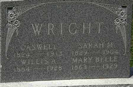 WRIGHT, CASWELL - Lorain County, Ohio | CASWELL WRIGHT - Ohio Gravestone Photos