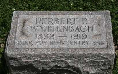 WYTTENBACH, HERBERT P. - Lorain County, Ohio   HERBERT P. WYTTENBACH - Ohio Gravestone Photos