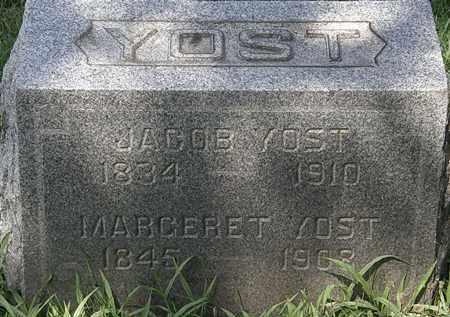 YOST, JACOB - Lorain County, Ohio | JACOB YOST - Ohio Gravestone Photos