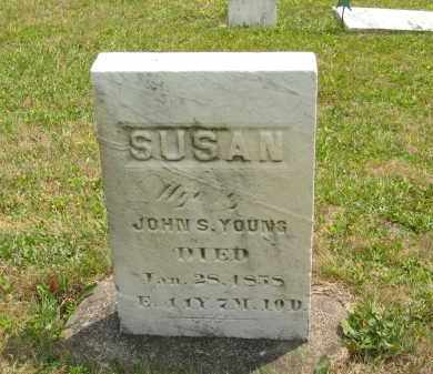 YOUNG, SUSAN - Lorain County, Ohio | SUSAN YOUNG - Ohio Gravestone Photos