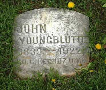 YOUNGBLUTH, JOHN - Lorain County, Ohio | JOHN YOUNGBLUTH - Ohio Gravestone Photos