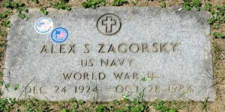 "ZAGORSKY, ALEXANDER ""ALEX"" S. - Lorain County, Ohio | ALEXANDER ""ALEX"" S. ZAGORSKY - Ohio Gravestone Photos"