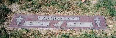 ZAGORSKY, JOSEPH - Lorain County, Ohio | JOSEPH ZAGORSKY - Ohio Gravestone Photos