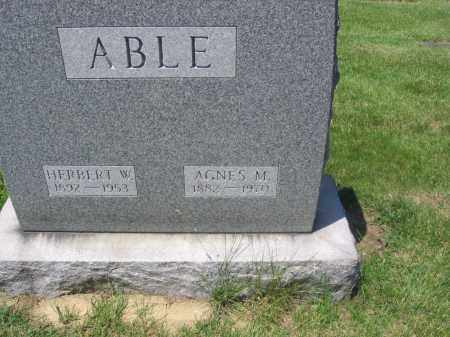 ABLE, HERBERT - Lucas County, Ohio | HERBERT ABLE - Ohio Gravestone Photos