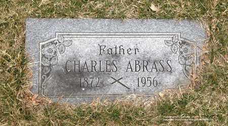 ABRASS, CHARLES - Lucas County, Ohio   CHARLES ABRASS - Ohio Gravestone Photos