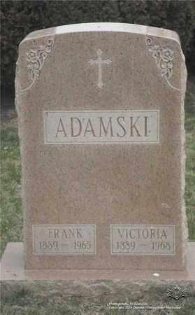 ADAMSKI, VICTORIA - Lucas County, Ohio | VICTORIA ADAMSKI - Ohio Gravestone Photos