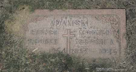 ANDREJAN ADAMSKI, VERONICA A. - Lucas County, Ohio | VERONICA A. ANDREJAN ADAMSKI - Ohio Gravestone Photos