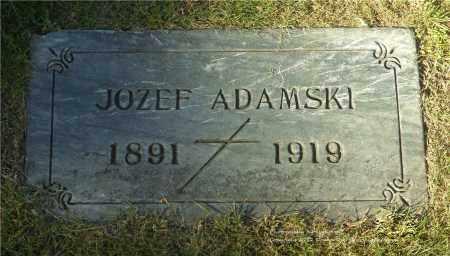 ADAMSKI, JOZEF - Lucas County, Ohio   JOZEF ADAMSKI - Ohio Gravestone Photos