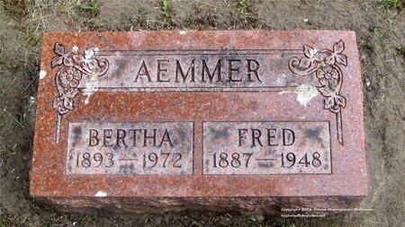 AEMMER, BERTHA - Lucas County, Ohio | BERTHA AEMMER - Ohio Gravestone Photos