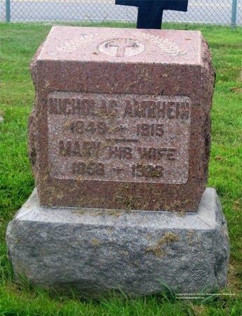 AMRHEIN, MARY - Lucas County, Ohio | MARY AMRHEIN - Ohio Gravestone Photos