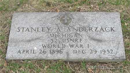 ANDERZACK, STANLEY A. - Lucas County, Ohio   STANLEY A. ANDERZACK - Ohio Gravestone Photos