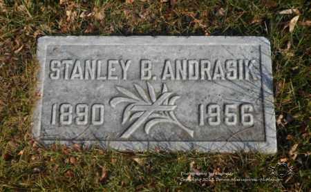 ANDRASIK, STANLEY B. - Lucas County, Ohio | STANLEY B. ANDRASIK - Ohio Gravestone Photos