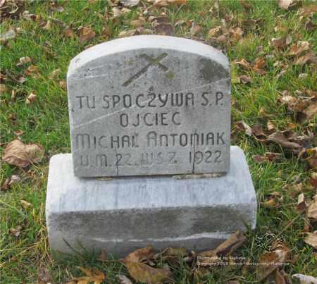 ANTONIAK, MICHAL - Lucas County, Ohio | MICHAL ANTONIAK - Ohio Gravestone Photos