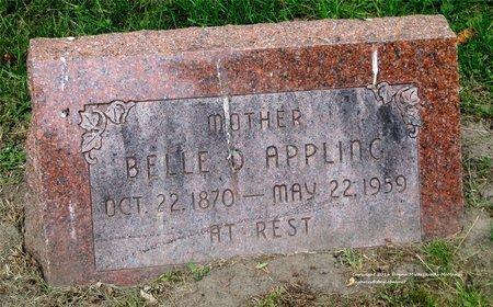 APPLING, BELLE D. - Lucas County, Ohio   BELLE D. APPLING - Ohio Gravestone Photos