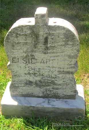 ARENTZ, ELSIE - Lucas County, Ohio | ELSIE ARENTZ - Ohio Gravestone Photos