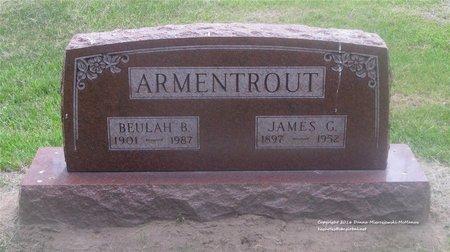 ARMENTROUT, JAMES G. - Lucas County, Ohio | JAMES G. ARMENTROUT - Ohio Gravestone Photos