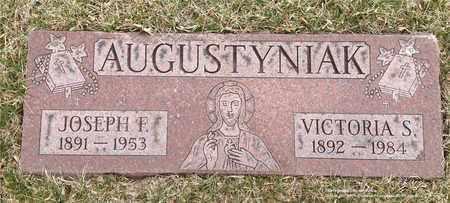 AUGUSTYNIAK, VICTORIA S. - Lucas County, Ohio | VICTORIA S. AUGUSTYNIAK - Ohio Gravestone Photos
