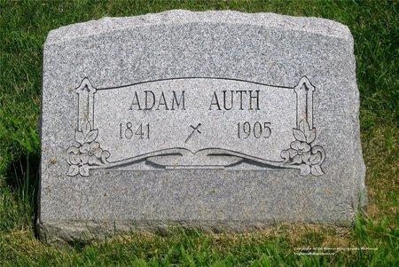 AUTH, ADAM - Lucas County, Ohio | ADAM AUTH - Ohio Gravestone Photos
