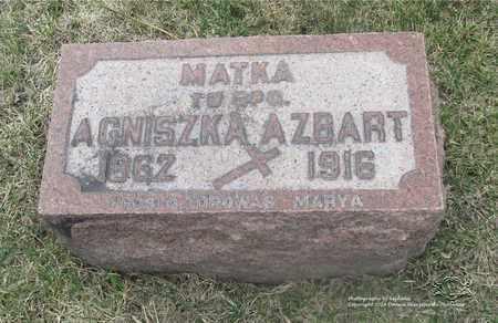 NOWACKI AZBART, AGNISZKA - Lucas County, Ohio | AGNISZKA NOWACKI AZBART - Ohio Gravestone Photos