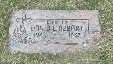 AZBART, DAVID L. - Lucas County, Ohio | DAVID L. AZBART - Ohio Gravestone Photos