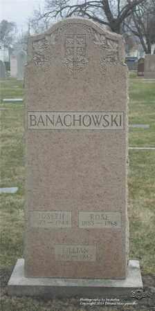 BANACHOWSKI, JOSEPH - Lucas County, Ohio | JOSEPH BANACHOWSKI - Ohio Gravestone Photos