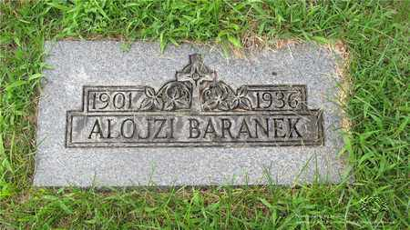 BARANEK, ALOJZI - Lucas County, Ohio | ALOJZI BARANEK - Ohio Gravestone Photos