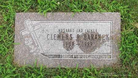BARANEK, CLEMENS R. - Lucas County, Ohio | CLEMENS R. BARANEK - Ohio Gravestone Photos