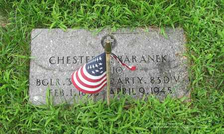 BARANEK, CHESTER - Lucas County, Ohio | CHESTER BARANEK - Ohio Gravestone Photos