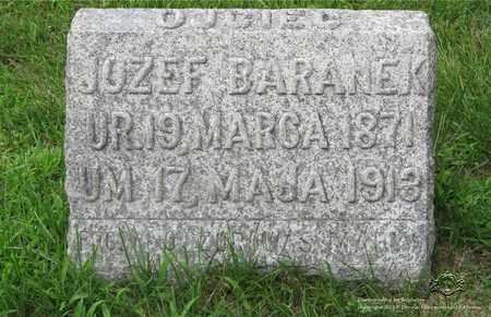 BARANEK, JOZEF - Lucas County, Ohio | JOZEF BARANEK - Ohio Gravestone Photos