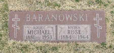 BARANOWSKI, MICHAEL - Lucas County, Ohio   MICHAEL BARANOWSKI - Ohio Gravestone Photos