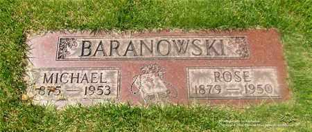JANKOWSKI BARANOWSKI, ROSE - Lucas County, Ohio | ROSE JANKOWSKI BARANOWSKI - Ohio Gravestone Photos