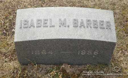 BARBER, ISABEL M. - Lucas County, Ohio | ISABEL M. BARBER - Ohio Gravestone Photos