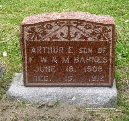 BARNES, ARTHUR E. - Lucas County, Ohio | ARTHUR E. BARNES - Ohio Gravestone Photos