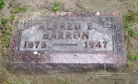 BARRON, ALFRED E. - Lucas County, Ohio   ALFRED E. BARRON - Ohio Gravestone Photos