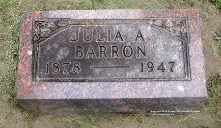 BARRON, JULIA A. - Lucas County, Ohio | JULIA A. BARRON - Ohio Gravestone Photos