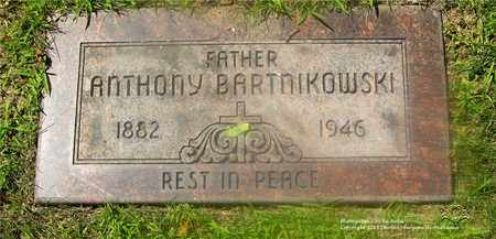 BARTNIKOWSKI, ANTHONY - Lucas County, Ohio | ANTHONY BARTNIKOWSKI - Ohio Gravestone Photos