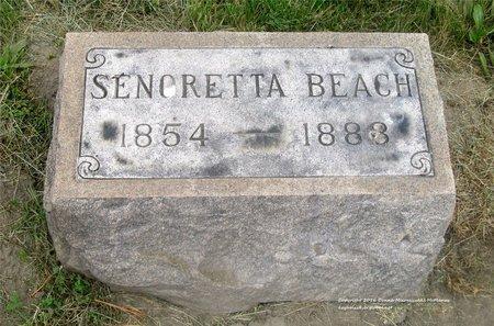 BEACH, SENORETTA - Lucas County, Ohio | SENORETTA BEACH - Ohio Gravestone Photos